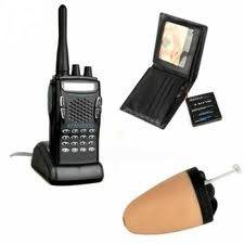 Spy Bluetooth Earpiece Walkie Talkie Set In Bijnor India