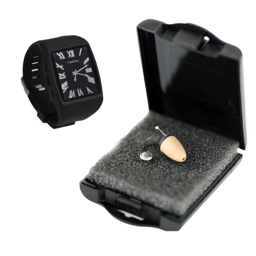 Spy Bluetooth Earpiece Mobile Watch Set In Qutub Minar India